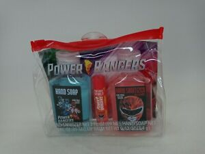 Mighty Morphin Power Rangers Boys Kids Gift Set Hand Soap Kit Includes Lip Balm