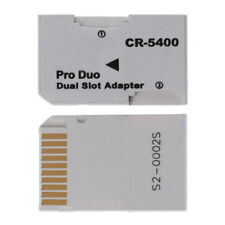 High Speed TF to Memory Stick MS Pro Duo PSP 2 Slot Adapter Switch