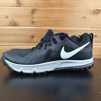 Nike Air Zoom Wildhorse 5 Mens Size 7 Trail Shoes Black AQ2222 001