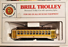 Bachmann HO Scale 61048 Brill Trolley ( Yellow # 36 ) NIB / B