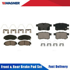Front & Rear 8 PCS Wagner Ceramic Disc Brake Pads Set For ACURA TSX 2011-2014