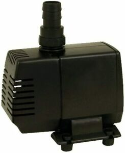 Tetra Water Garden Pump 325 for Waterfalls, Filters, and Fountain Heads Black
