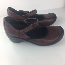 Privo By Clarks Womens Leather Mary Janes Size 8M