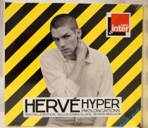 nouvel album Cd HERVE Hyper Prolongations neuf 2/2021 édition Limitée Digipack