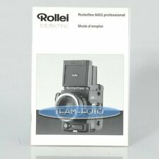 Rollei Anleitung - 6003 Professional ( Französisch )