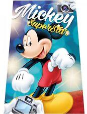 Disney Mickey étoile Couverture Polaire à câliner Couvre-lit 100 x 150 cm