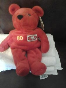 1999 Jerry Rice #80 Salvinos Beanie Bammers San Francisco 49's  NEW-Red