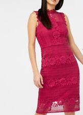 34# Amanda Encaje Vestido Talla UK16 RRP £ 99