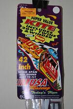 Vintage 1992 Gayla USA Racing Kite 42 Inch Wingspan Sealed New Nascar Race Car
