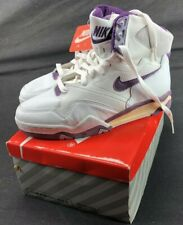 Vintage Nike Air Transition Ii Hi Women's Shoes Dry Rot White/Purple As Is Sz 9