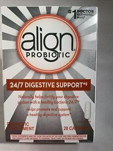 Align Probiotic Supplement - 28 Capsules - Silver Box - 11/2023+