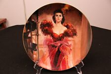 1989 Gone With The Wind Scarlett's Resolve W.S. George Plate w/Coa