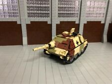WWII German Jagdpanzer 38 Hetzer tank destroyer World War 2 (II) WW2 MOC Germany