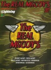 The REAL McCOY'S 2017 Catalogue Magazine Book WW2 Flight Rider Deck Jacket Buco
