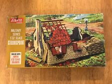 Vintage Airfix 1/32 Scale Strong Point loose complete in box