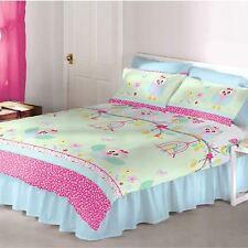 OWLS 'TWIT TWOO' DOUBLE DUVET COVER GIRLS BEDDING NEW OWL
