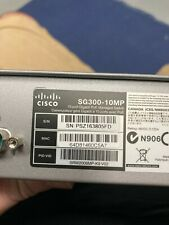 Cisco SG300-10MP Network Switch