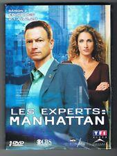 LES EXPERTS MANHATTAN - SAISON 2 - ÉPISODES 13 À 24 - 3 DVD SET - TRÈS BON ÉTAT
