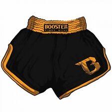 Booster Muay Thai - Kickboxen, MMA Shorts TBS Retro V2 Black/Orange. Gr. XS-XL.
