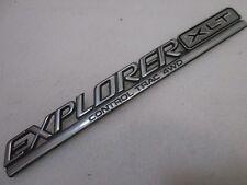 "95 96 97 Ford Explorer—""XLT Control Trac AWD"" Rear Gate Nameplate Emblem"