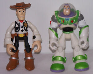 2006 Hasbro, Toy Story Star Squad, Buzz Lightyear & Woody. preowned.