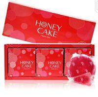 Shiseido Ruby Red Honey Cake Savon Translucent Soap 100g x 3pcs in Gift Box