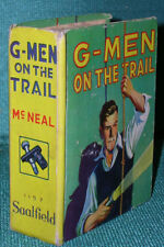 G-Men on the Trail by James McNeal-Vintage Saalfield Little Big Book-1938
