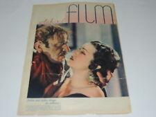 Film 30/1934 polish magazine Fay Wray, Wallace Beery, Helba Huara Martha Eggerth