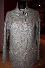 BY MALENE BIRGER  Kidmohair  Wool Cardigan  Sweater Beige Brown Size:S