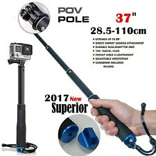 Selfie Stick Action Camera Surfing Diving Extendable Go Pro Self Pole Hero 5 4 3