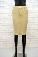 DOLCE&GABBANA Donna Gonna Extra Slim in Cotone Taglia Size 24 Skirt Women Casual