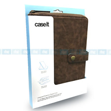 Case It Universal 10 Inch Protective Leather Tablet Case for iPad Air - Brown