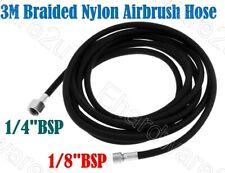 """3Meter Braided Nylon Airbrush Hose 1/8""""F X 1/4""""F (ABH01023M)"""