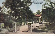 Hot Springs, Arkansas; Band St. & Entrance to Army/Navy Hospital Grounds, 00-10s