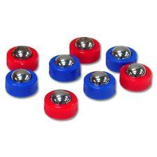 Shuffleboard Tables Replacement Pucks Roller Balls Tabletop Hockey Games 8-Piece