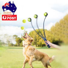 Dog Toy Dog Tennis Ball Launcher Thrower Interactive Fetch Toy 50cm in Length