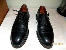 """Allen Edmonds  """"LEEDS"""" Oxfords 11 D  Black  Imported Leather Shoes"""