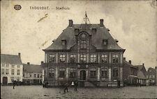Feldpostkarte aus Thourout 1915 Feldpoststempel 1. Weltkrieg Verwendung