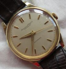 International Watch Co. I.W.C. automatic mens wristwatch gold filled case