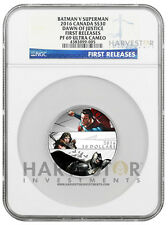 2016 BATMAN V SUPERMAN: DAWN OF JUSTICE $30 2 OZ. - NGC PF69 FIRST RELEASES UCAM