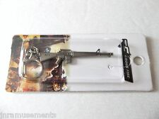 """M-16 Rifle Keychain-Cross Fire 2.5"""" L Gun-Military Soldier/Law Weapon-Free S/H"""