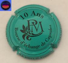 Capsule de Champagne PIERRE MIGNON Cuvée 10 ans Bourse d'échange Turquoise !!!