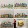 Brooks and Bentley Spice Houses 24 Full Set Lenox Country Houses Herbs Rare