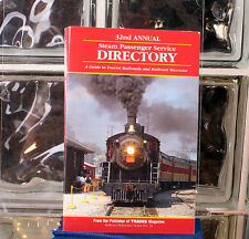 32nd Annual Steam Passenger Service Directory 1997 Edition From Trains Magazine