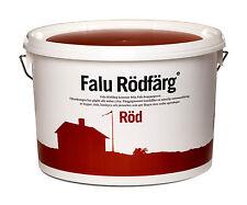 6,99 € / Liter, 10 Liter original Falu Rödfärg, Schwedenrot Holzschutz