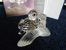 SWAROVSKI TURTLEDOVE,3 rd,FIGURE,OF THE 1st,COLLECTIBLE ANNUAL EDITION,MINT NEW