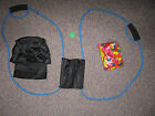 LAUNCHER POUCH FILLER KIT SET 450 YARD WATER BALLOON CATAPULT COLLEGE PARTY NEW
