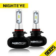 Nighteye 9005 Hb3 White LED Light Headlight Kit Car Fog Lamp Bulbs Canbus 8000lm