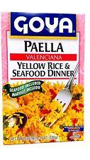 Goya Paella Valenciana Yellow Rice & Seafood Dinner 19 Oz