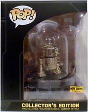 R2-D2 GOLD CHROME Star Wars Pop Vinyl Figure Hot Topic Funko 2017